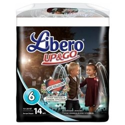 libero up & go love collection 6 (13-20 кг) 14 шт.