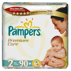 Pampers Premium Care 2 (3-6 ��) 90 ��.