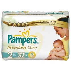 Pampers Premium Care 2 (3-6 кг) 32 шт.