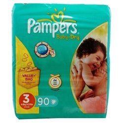 pampers baby dry 3 (4-9 ��) 90 ��.