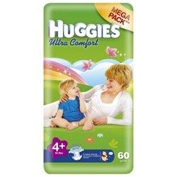 Huggies Ultra Comfort 4+ (10-16 кг) 60 шт.