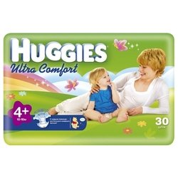 Huggies Ultra Comfort 4+ (10-16 кг) 30 шт.