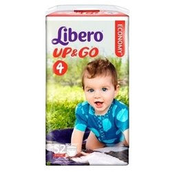 Libero Up & Go 4 (7-11 кг) 52 шт.
