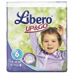 Libero Up & Go 6 (13-20 кг) 14 шт.