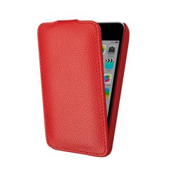 чехол-флип для apple ipod touch 5 (lazarr protective case) (красный)