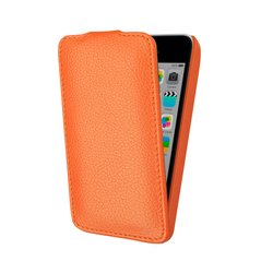 чехол-флип для apple ipod touch 5 (lazarr protective case) (оранжевый)