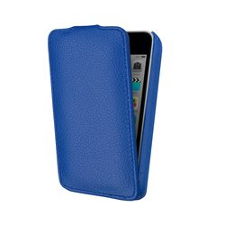 чехол-флип для apple ipod touch 5 (lazarr protective case) (синий)