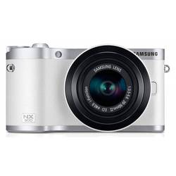 "photocamera samsung nx300 kit white 20.3mpix 20-50mm 3.31"" 1080p sdhc cmos is rotlcd vf raw hdmi wifi li-ion"