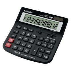 Калькулятор Canon WS-220 TC (черный)