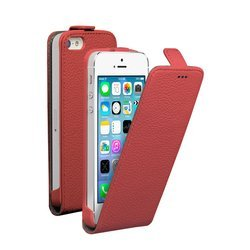 ��������� �����-���� ��� apple iphone 5, 5s (deppa flip cover) (�������)