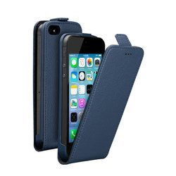 �����-���� ��� apple iphone 5, 5s (deppa flip cover) (�����)