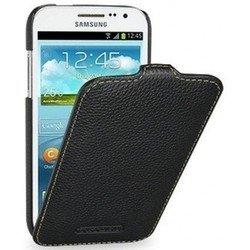 Кожаный чехол-флип для Samsung Galaxy S5 SM-G900F (R0003108) (черный)