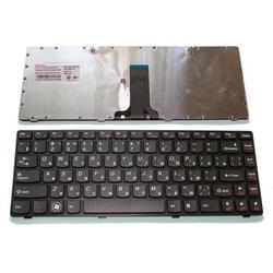Клавиатура для ноутбуков Lenovo IdeaPad B470, G470, V470, Z470, Z370 (CD130059) (чёрная)