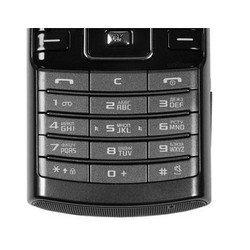 Клавиатура для Samsung D780 (CD013218) (черный)