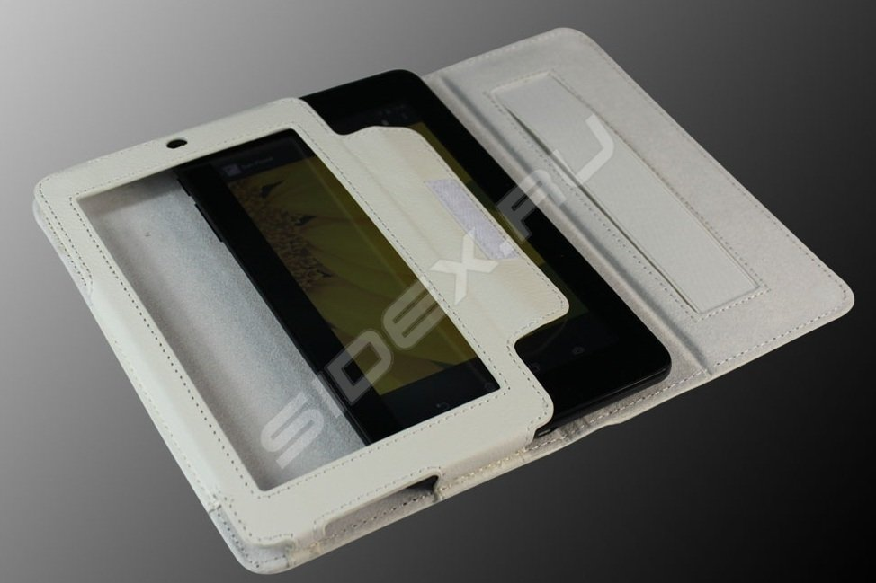 Чехол IT Baggage FOR ASUS TF103C/TF103CG иск. кожа White ITASTF1032-0
