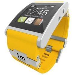 Умные часы I'M Watch IMWALY02C02 (с желтым ремешком)