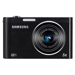 "photocamera samsung dv300 black 16.1mpix zoom5x 3.0"" 720p sdhc sdhc ccd is opt toulcd wifi 2 дисплеяbp-70a"