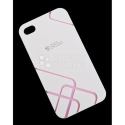 �����-�������� ��� apple iphone 4, 4s (cococ r0004294) (��������, �����)