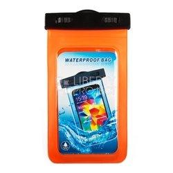 """Универсальный водонепроницаемый чехол до 5"""" (R0004110) (оранжевый)"""