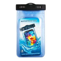"""Универсальный водонепроницаемый чехол до 5"""" (R0004112) (синий)"""