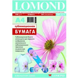 Сублимационная матовая бумага A4 (100 листов) (Lomond 0809413)