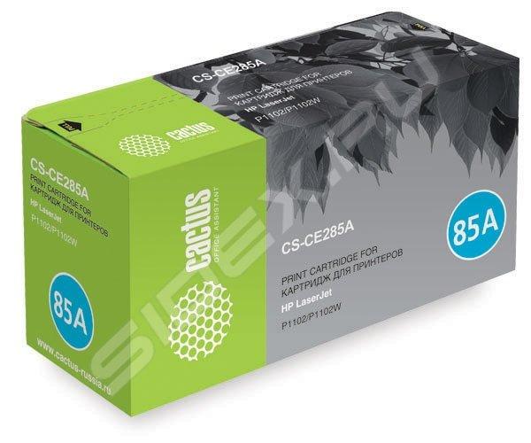 Картридж для HP LaserJet P1102, P1102W, M1130, M1132 Cactus CS-CE285A (черный) купить - Железнодорожный - по Убойной Цене + обзо