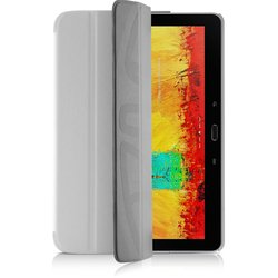 чехол-книжка для samsung galaxy note 10.1 p6010 2014 edition (onzo second skin) (белый)