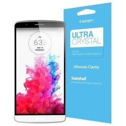 Защитная пленка для LG G3 Steinheil LCD Film Ultra Crystal (Spigen SGP10856) (прозрачная)