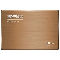 "ssd silicon power v70 60gb + 3.5"" adaptor (sp060gbss3v70s25)"