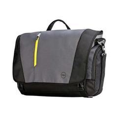 """Сумка для ноутбука 17"""" (Dell Tek 8CPGH) (черно-серый)"""