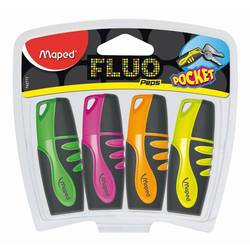 ����� ����������������� Maped Fluo peps pocket � ������ ��������, ������� ���� 1-5��, ���������� � ���������� ����� �������, 4 ��