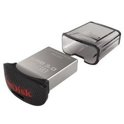 sandisk ultra fit 16gb (sdcz43-016g-g46) (черный)