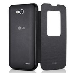 Чехол-книжка для LG L80 D380 (CCF-510.AGRABK) (черный)