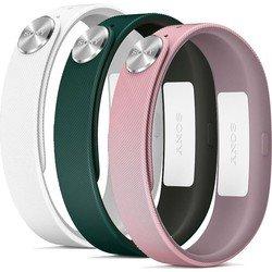 Комплект из трех ремешков для браслета Sony SmartBand SWR10 (Sony SWR110 FASHION S)