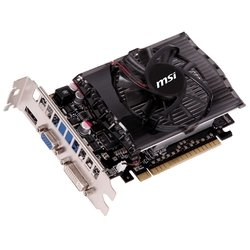 MSI GeForce GT 730 700Mhz PCI-E 2.0 2048Mb 1800Mhz 128 bit 2560x1600 DVI HDMI HDCP (N730-2GD3)