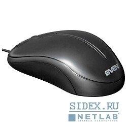 Мышь SVEN Optical USB (CS-301) (черный)