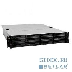 дисковые массивы synology rs3614xs qc3, 4ghz, 2x2gb up to 32, raid0, 1, 10, 5, 5+sp, 6, up to12hp hdds sata(3, 5