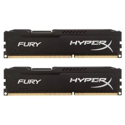 Kingston DDR3 8GB 1333MHz Kit (2x4GB) HyperX FURY Black Series (HX313C9FBK2/8)