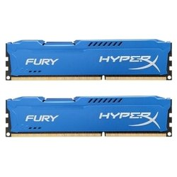 kingston ddr3 8gb 1333mhz kit (2x4gb) hyperx fury blue series (hx313c9fk2/8)