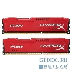 Kingston HX313C9F*K2/16 (HX313C9FRK2/16) (красный)