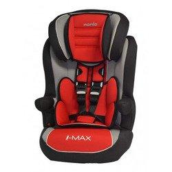 Автокресло детское от 9 до 36 кг (Nania Imax SP LUXE Agora Carmin) (красный)