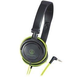 Наушники Audio-Technica ATH-SJ11 (черный/зеленый)