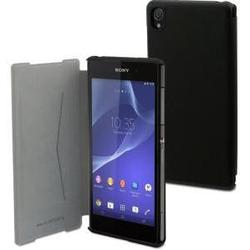 Чехол-книжка для Sony Xperia Z2 Muvit UltraSlim Folio (черный)