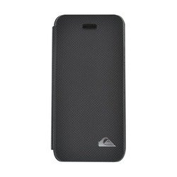 чехол-книжка для iphone 5/5s quiksilver folio logo case (черный)