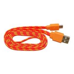 Кабель PALMEXX USB - micro USB (оранжевый-желтый)