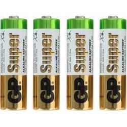 Алкалиновая батарейка AA (GP 15ARS-2SB4) (4 шт)