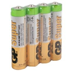 Алкалиновая батарейка AAA (GP 24ARS-2SB4) (4 шт)