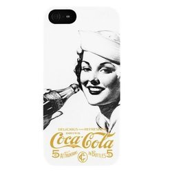 чехол-накладка для apple iphone 5, 5s, se (coca-cola cchsip5000s1202) (golden beauty 13249)