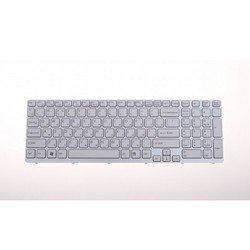 Клавиатура для ноутбука Sony Vaio SVE15 (R0001501) (белая)