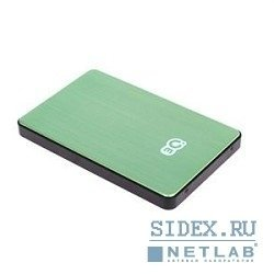 "носитель информации 3q portable hdd 500gb,  green&black,  alu-mini,  2.5"" sata hdd 5400rpm inside,  usb2.0,  rtl,  3qhdd-u223m-gb500"
